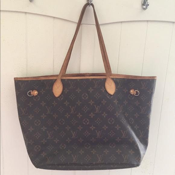 Louis Vuitton Handbags - Authentic LV Neverfull MM 97c50599da357